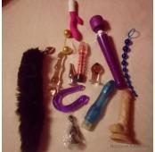 Zabawki wyuzdanej damy... pachnace ..... cudne