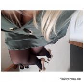 Noszone pachnące rajstopki, pończoszki i zdjęcia z noszenia